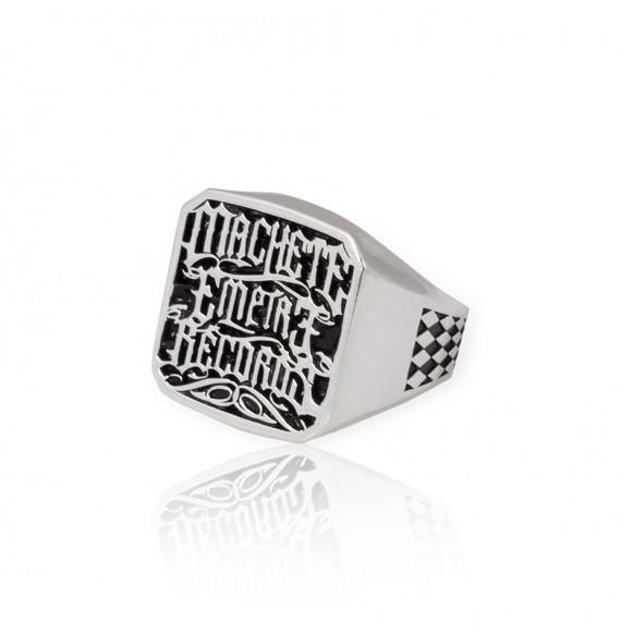 Machete Empire Silver Ring
