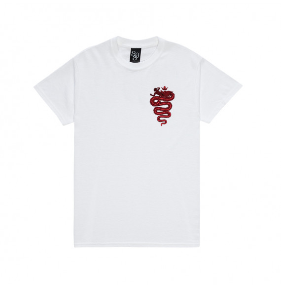 "Lazza T-Shirt ""Zzala"" White"