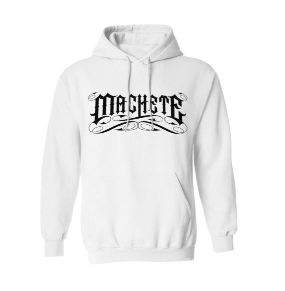 """Machete Hoodie """"Empire"""" White"""