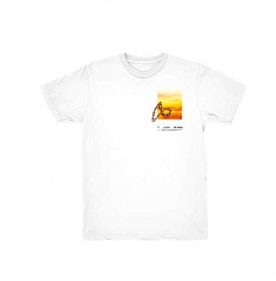 "Lazza ""Re Mida"" T-Shirt White"