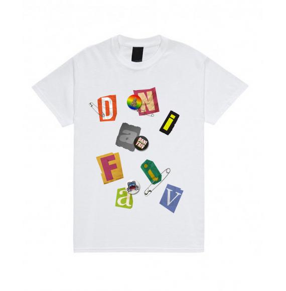 """Dani Faiv """"Patch"""" T-Shirt"""