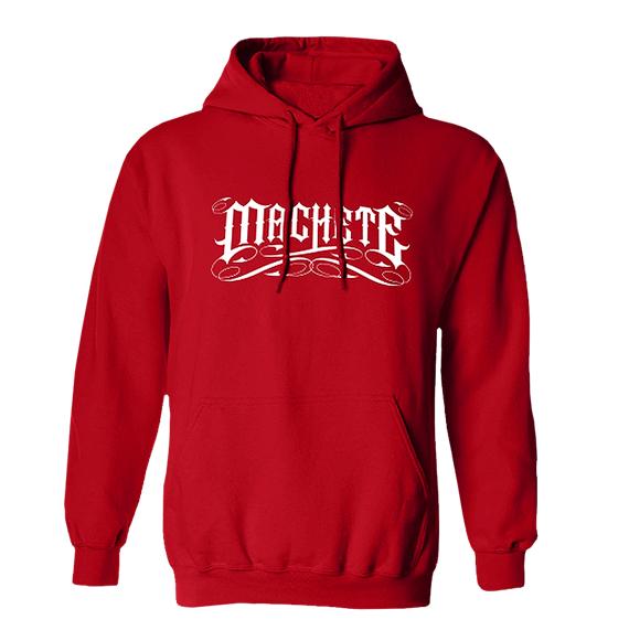 """Machete Hoodie """"Empire"""" Red"""