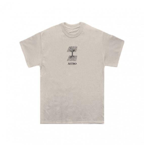 "Nitro ""Garbage"" T-Shirt Cream"