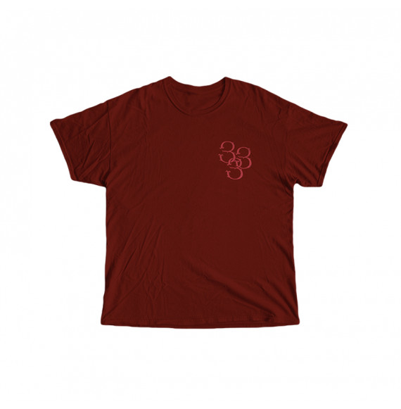 "Lazza ""J"" T-Shirt Bordeaux"