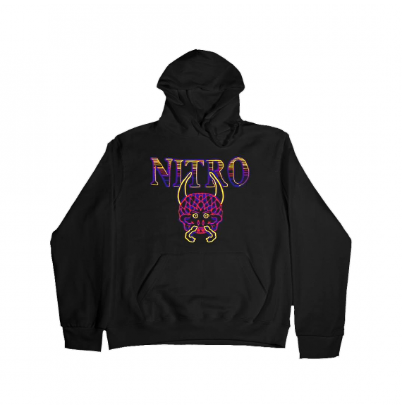 "Nitro Hoodie ""Avvoltoi"" Black"