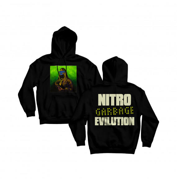 "Nitro Hoodie ""Evilution"" Black"